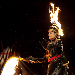 Fire performance at The Crucible